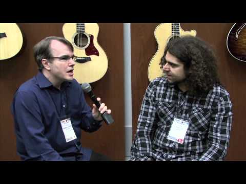 WNAMM 2011 - Claudio Sanchez of Coheed&Cambria at Taylor Guitars