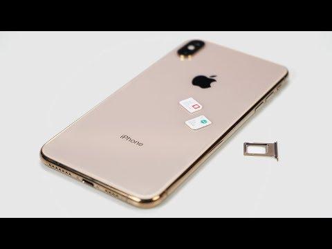iPhone XS Max на 2 сим-карты из Гонконга - работает?
