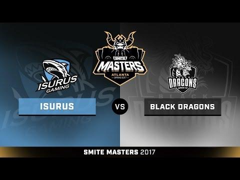 SMITE Masters Spring 2017 Placement Round ISURUS Gaming vs. Black Dragon Esports Game 3
