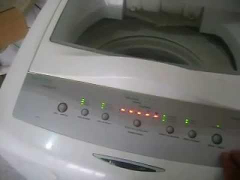 Lavadora BRASTEMP não liga - Não programa - Leds Piscando