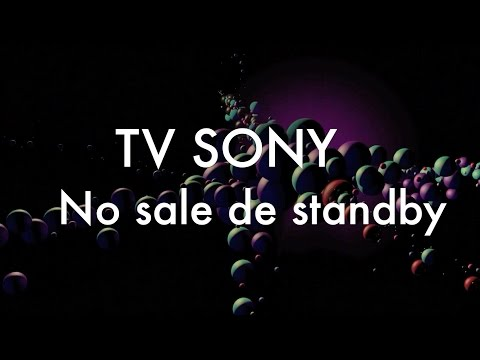 TV SONY no sale de standby