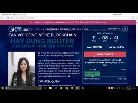 worldwifi ICO Review - Mạng lưới Wifi miễn phí trên nền tảng Blockchain
