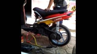 Setting mio road race 130 cc