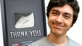 Received The Silver Play Button - Thank You Chibits