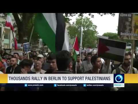 21720 governance stage Press TV Thousands rally in Berlin to support Palestinians