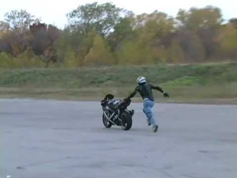 If At First You Don't Succeed... Try, Try, Try, and Try Again! - Motorcycle Stunt Fail