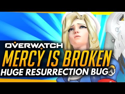 Overwatch | Mercy is BROKEN - Huge Resurrection Bug!