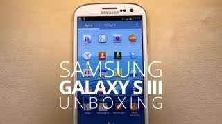 Samsung Galaxy S III Unboxing!