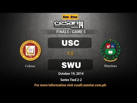 SWU vs USC - College - October 19, 2014 - Game 5 Do or Die