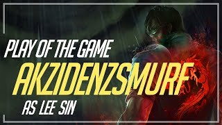 LEE SIN PLAY OF THE GAME (OVERWATCH PARODY)
