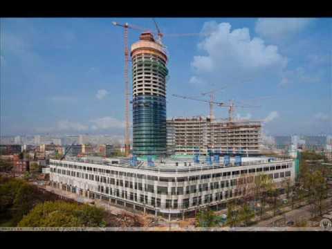 Budowa Sky Tower We Wrocławiu 2007 - 2012