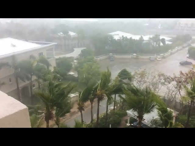 Hurricane Irma wreaks havoc through the Caribbean