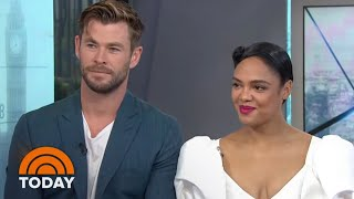 Chris Hemsworth And Tessa Thompson Talk New 'Men In Black' Movie | TODAY