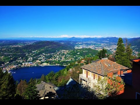 360 VR Tour | Como | Brunate | Comune Di Brunate | Air Panoramic View | VR View | No Comments Tour