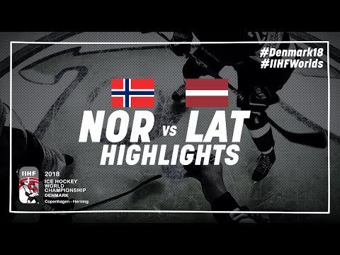 Game Highlights: Norway vs Latvia May 5 2018 | #IIHFWorlds 2018