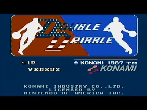 Double Dribble - NES Gameplay