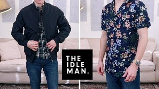 The Idle Man Haul and Try On | Shirts, Bomber Jacket, Jeans, Trousers