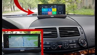 "Dashboard Camera Android 1080P Dual Camera and GPS, 7 ""IPS screen Bluetooth 3G / Detailed review"