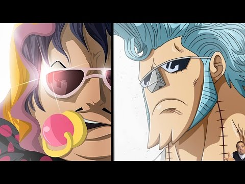 One Piece 755 Manga Chapter ワンピース Review -- Franky Vs Senor Pink = Pimps & The Annoying Tontatta klip izle