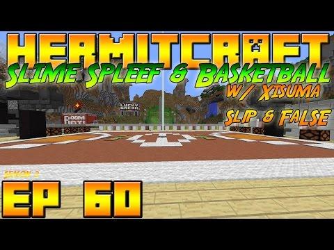 Minecraft Hermitcraft Vanilla - S3E60 - Slime Spleef & Basketball