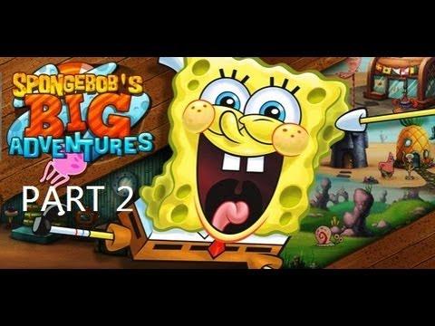 Game | Spongebob s Next Big Adventure Walkthrough part 2 | Spongebob s Next Big Adventure Walkthrough part 2