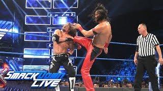 AJ Styles vs. Shinsuke Nakamura: SmackDown LIVE, July 10, 2018