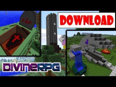HolyWorld! Download do Mapa Épico da Série! + Pasta .Minecraft com Mod DivineRPG (e Mods de Suporte)