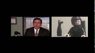 LEGO The Office CPR Scene LEGO Minute Original Stop-Motion