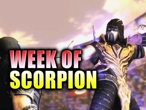 INJUSTICE: Week Of! Scorpion Online Matches #1