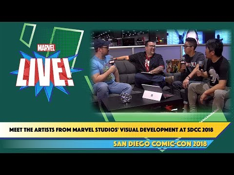 Meet the Artists from Marvel Studios' Visual Development at SDCC 2018