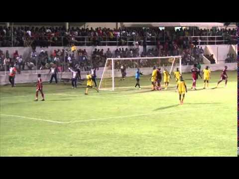 CFU Men's Highlights St  Kitts & Nevis vs Guyana