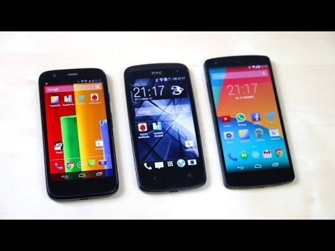 htc desire 500 vs moto g can ban