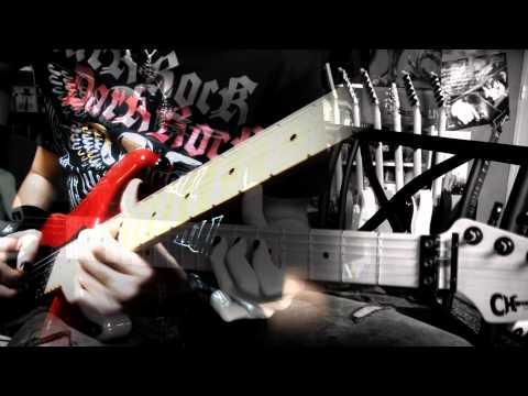 The Evil that Men do guitar cover (instrumental) - Iron Maiden (Full HD)