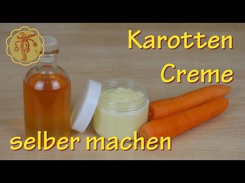 Karotten-Creme selber machen - Tagescreme für normale Haut
