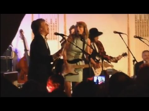 Prince, Taylor Swift & Paul Mccartney Lead All-star 'snl 40' After-party Jam Session video