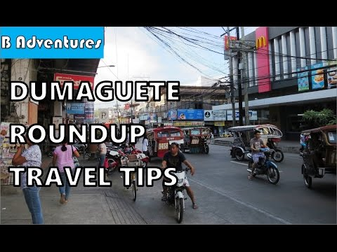 Philippines S2 Ep34: Dumaguete, Phones, Pedicab Trikes, Accommodation, Travel Tips, Roundup Pt1