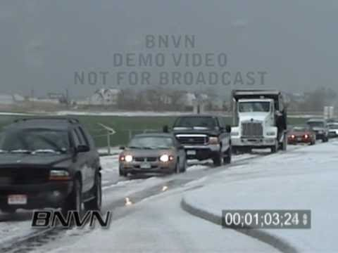 4/29/2003 Commerce City Colorado Hail Storm Video