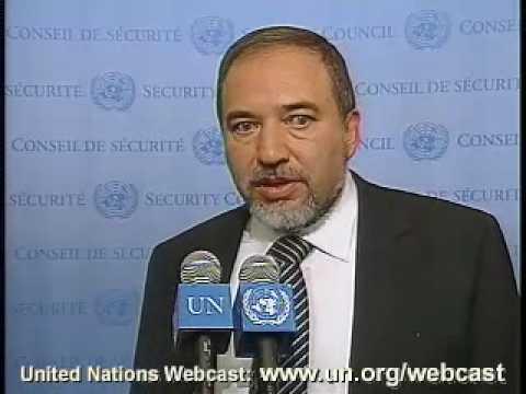 MaximsNewsNetwork: ISRAEL FOREIGN MINISTER AVIGDOR LIEBERMAN @ U. N.