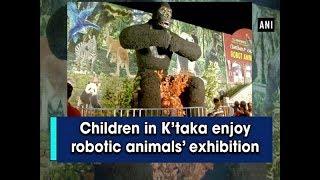 Children in K'taka enjoy robotic animals' exhibition - #Karnataka News