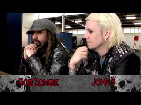 Rob Zombie&John 5 Interview