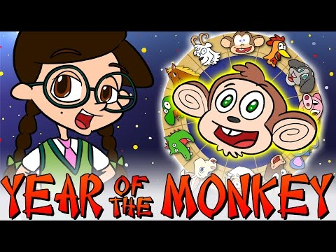Year of the Monkey - Chinese New Year | Nikki's Wiki | Wiki for Kids at Cool School