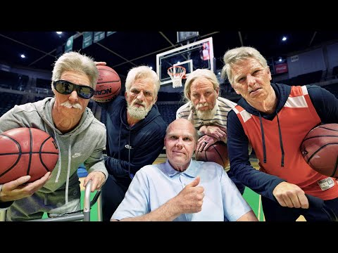 Old School Trick Shots | Dude Perfect