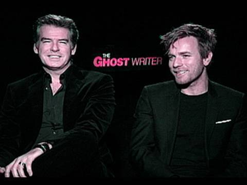 Maxim Exclusive: Ewan McGregor and Pierce Brosnan