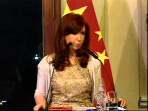 18 Julio 2014 Declaración   Cristina Fernández de Kirchner y Xi Jinping