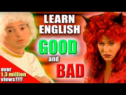 Learning English-Lesson Five (Good/Bad)