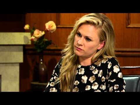 Fangs and Blood Don't Happen In My Bedroom  | Anna Paquin | Larry King Now Ora TV