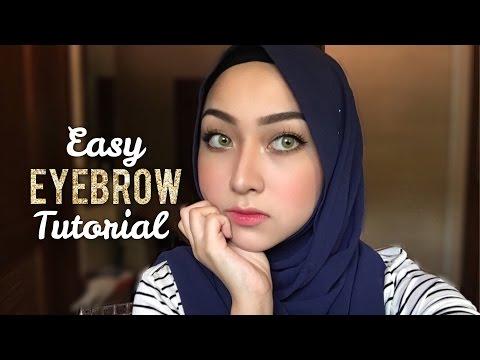 Easy Eyebrow Tutorial
