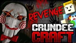 Minecraft: TORTURE CHAMBER TROLL (Saw Troll Revenge)   CRUNDEE CRAFT