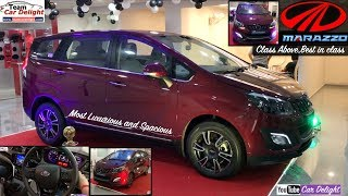 Mahindra Marazzo Top Model M8 Review With Features,Price,Interior,Exterior | Marazzo Review