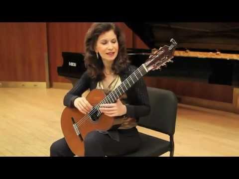 Sharon Isbin Interview&Lesson on GuitarTV